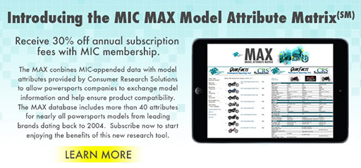 MIC Max Model Attribute Matrix